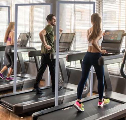 Fitness Center Divider