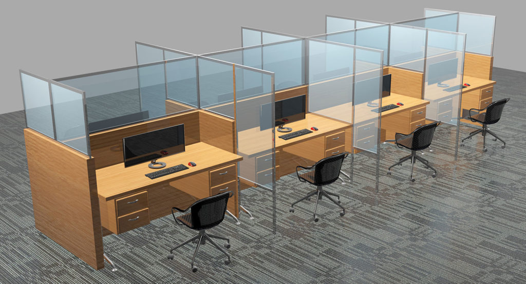 Large Office Layout