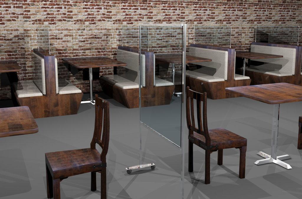 Restaurant Screens